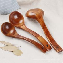 Высокая безопасность Качество деревянные ложки для кухни