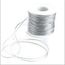 Product available silver metallic elastic cord