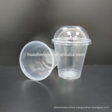 Beverage PP Plastic Cup 360/450/510/660 ml with dome shape lid