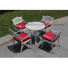 Алюминиевая мебель с наружной отделкой для отдыха на открытом воздухе (SZ212, SD512)
