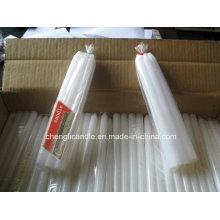 Bougie pilier blanc pour Madagascar
