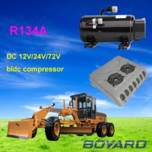 dc powered air conditioner spare parts R134A 12V/24V dc ac kompressor for electric car air condition portable air conditioner
