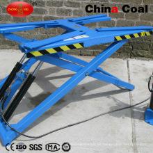 Lxd-6000 Ce Scissor Car Lifting Machine Levantamiento del coche portátil