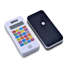 School Pocket Calculator with phone Shape
