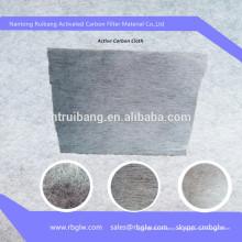 suministro de material de filtro de aire de auto de filtro de aire de carbono