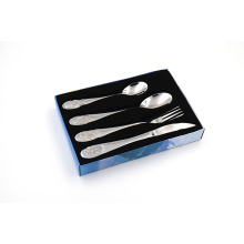 4pcs Stainless Steel Cutlery Set with Color Box