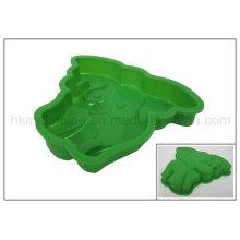 Elefante en forma de silicona Bakeware (RS07)