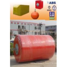 Bouées de mousse de revêtement PU de certificat ISO de haute qualité