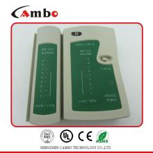 China Fabricación de red lan cable probador de uso para rj45
