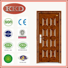 Commercial Exterior Metal Door KKD-311 for Residential Security