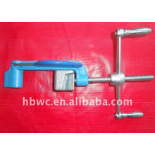 ajuste de enlace, flejadora de banda de acero inoxidable