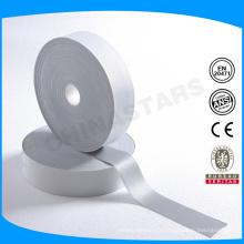 Tissu élastique réfléchissant à un seul côté certifié OEKO TEX pour corde en plastique