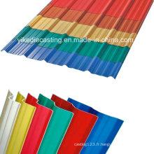Matériau de construction en plastique de 3 couches de preuve UV pour le toit