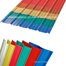 UV Proof 3-Layer Plastic Building Material for Roof