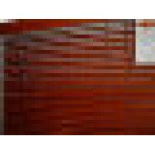 Persiana em madeira maciça (cortinas de janela)