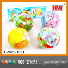 7.6CM Animal Soft Rubber Ball (4PCS in one bag)