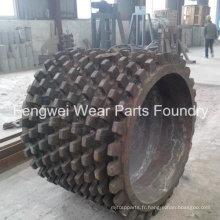 Pièce de dents de manganèse élevée pour concasseur de charbon