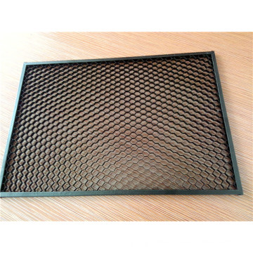 Custom Size Black Color Aluminum Honeycomb Louvers