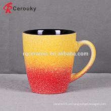 Taza de café cerámica a granel de varios colores 300ml