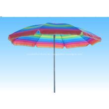 Sombrilla de playa al aire libre promocional de buena publicidad