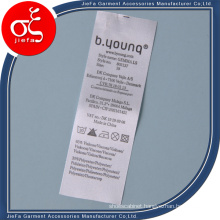 Non-Woven Material Printed Label Care Label