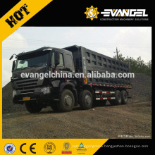 35T loading HOWO dump truck 8*4 for sale with LHD/RHD cabin