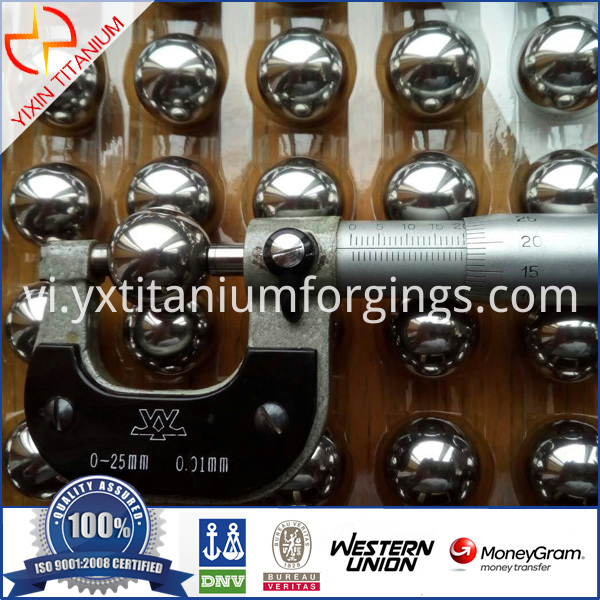 Titanium Ball Medical Ball Titanium Bead