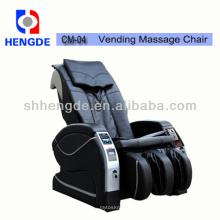 Moeda / Bill operado 3D cadeira de massagem Vending