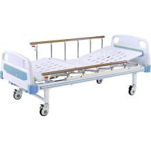 Bett für medizinische Betten Bewegliches Full-Fowler-Bett mit ABS-Kopfteilen