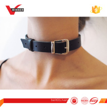 2016 new fashion accessories leather necklet