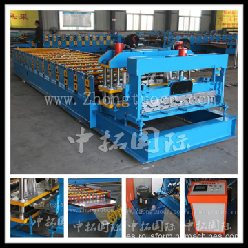 Glazed Tile Roll Forming Machine Manufacturer