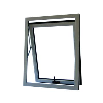 Double vitrage Aluminium Top Fenêtre suspendue Fenètre du store en aluminium