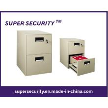 Suministros de oficina segura de acero archivo de tamaño pequeño (SPQ15)
