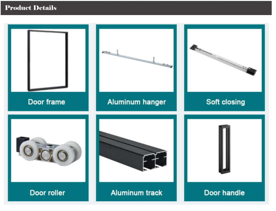 aluminum door accessories