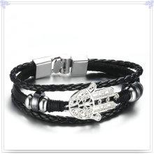 Мода ювелирные изделия из кожи браслет ювелирные изделия из кожи (LB562)