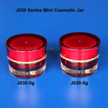 5ml Cone Shape Red Promotion Cosmetic Jar