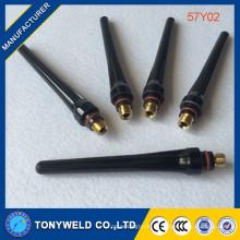 57Y02 длинные задние крышки 507y02 для TIG сварочная горелка SR17 SR18 релиза 26
