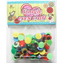 Волнистые гугли глаза для игрушек пластиковые животных глаза