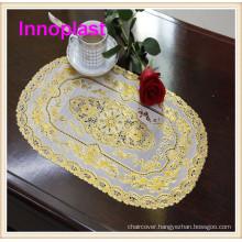 PVC Lace Placemat /Golden Lace Crochet Doilies