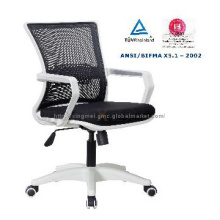 Low back swivel office chair,computer chair black,quality staff chair