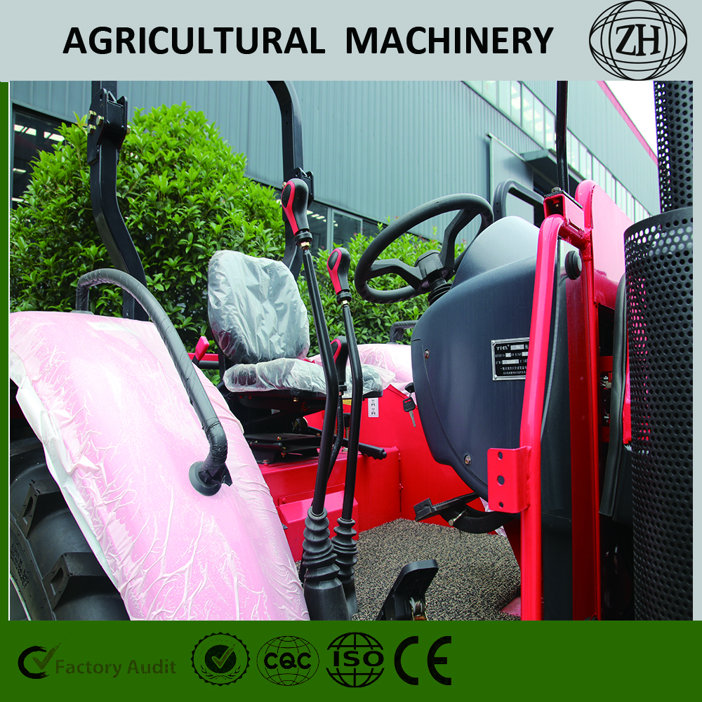 Customized 90 HP Wheeled Farm Tractors With Cab