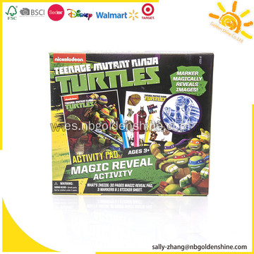 Tortugas Magic Reveal Activity Set