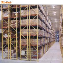 almacén de servicio pesado estante de paleta de doble profundidad