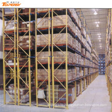 heavy duty warehouse storage double deep pallet rack