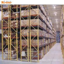 cremalheira resistente da cremalheira profunda dobro do armazenamento do armazém