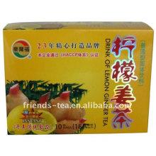 Sofortige Honig Zitrone-Ingwer-Tee