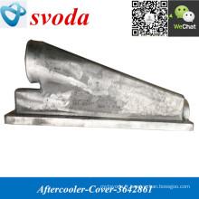 Aftercooler Cover 3642861 pour TEREX Dump Truck Parts K38 moteur