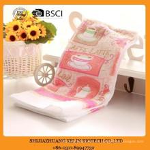 toalla de cocina impresa terry básica de la cocina diaria del algodón de encargo de la máquina