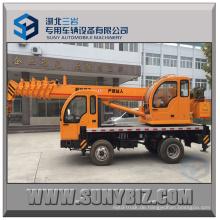 7 Tonnen 4X2 LKW-Kran gebraucht LKW Kranwagen