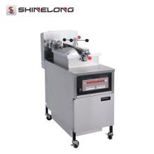 Máquina eléctrica del pollo de la sartén de la presión del pollo del gas del acero inoxidable comercial K536